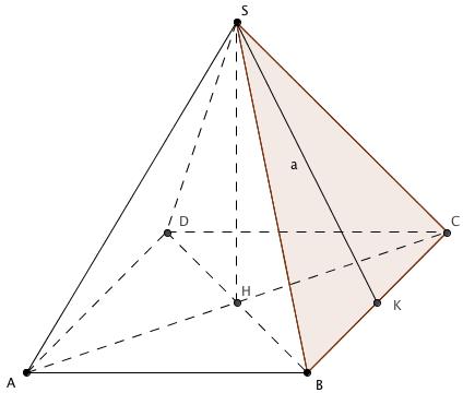 Calculer La Surface Laterale D Une Pyramide