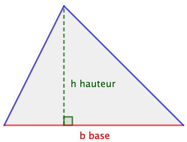 Calculer L Aire D Un Triangle
